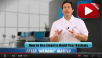How to use Email To Build Reviews Video Preview