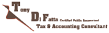 Testimonial Builder Clients Tony Difatta Logo