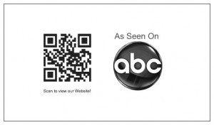 businesscard as seen on abc